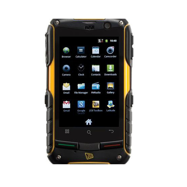 jcb pro smart image showing large clear screen