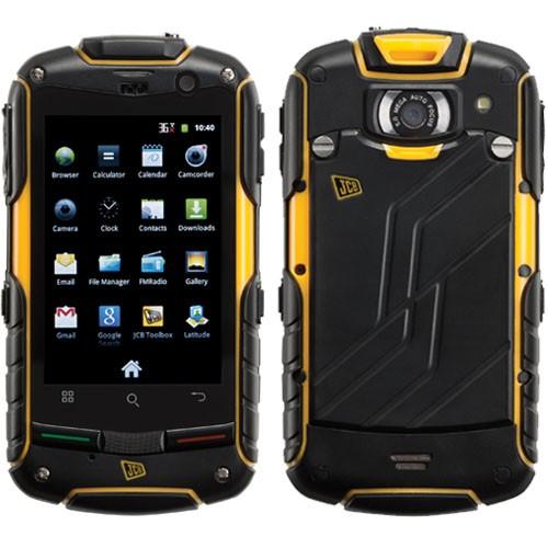 jcb prosmart toughphones image showing front and back of handset
