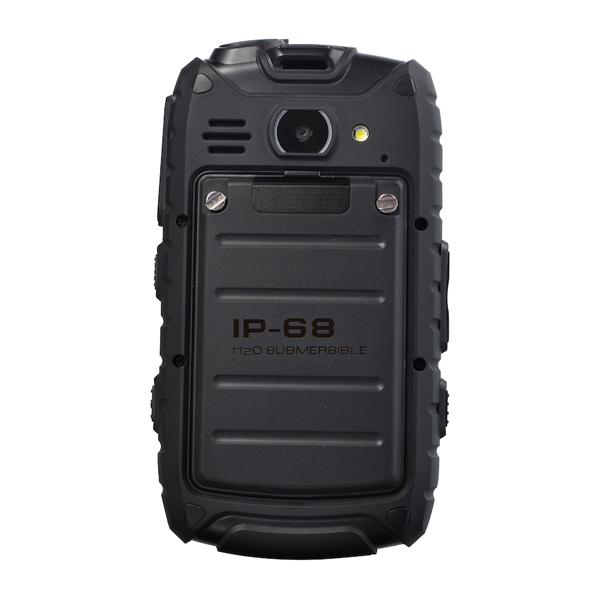 Defender image showing sturdy back cover of handset
