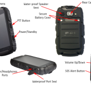The Defender (Android 4.2) Smartphone and Walkie Talkie