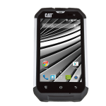 CAT B15Q image of the front of the handset