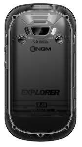 NGM Explorer image showing clear touch screen