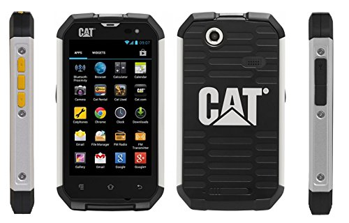 cat b15q toughphones image showing large touch screen
