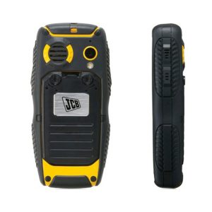 jcb pro smart image showing water proof cover and covered side buttons