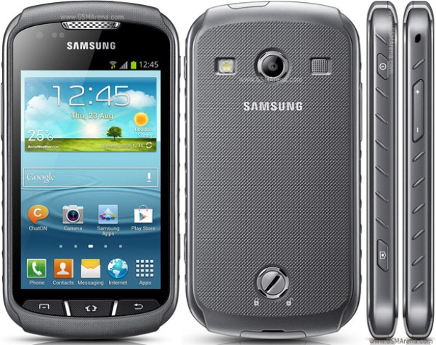 samsung galaxy ss710 image of front, back and sides of smartphone