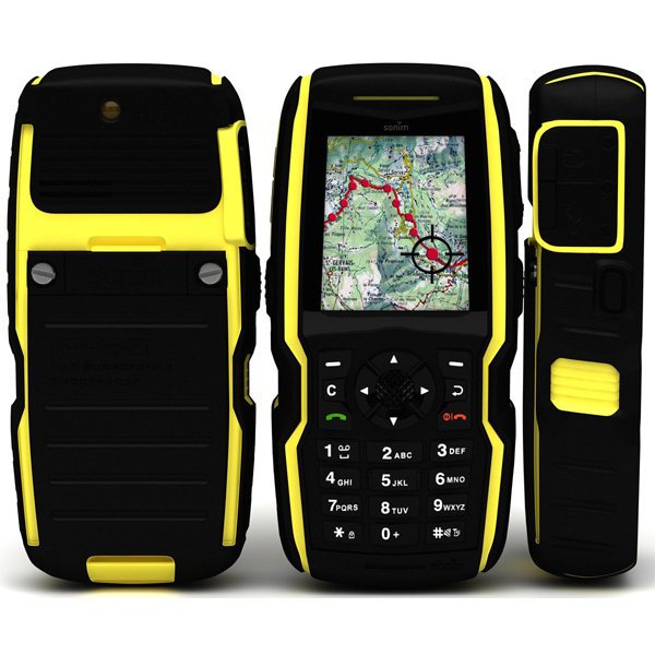 sonim xp1300 image showing rugged water proof handset design