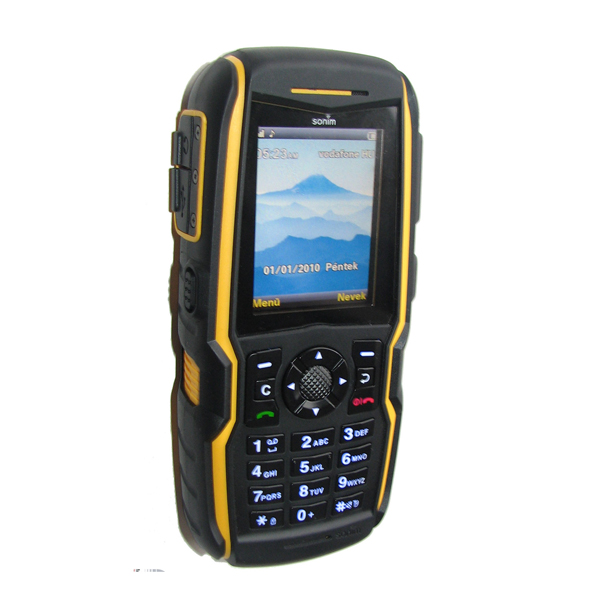 sonim xp1300 image showing rugged tough phone design