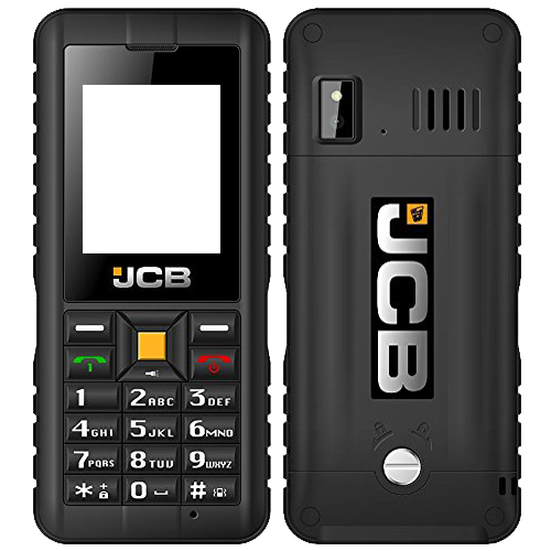 jcb tradesman 2 tough phone image showing front and back of handset