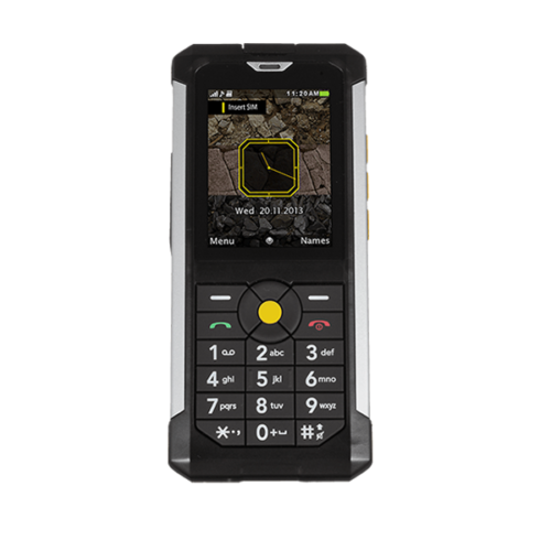 CAT B100 is an impact resistant tough phone