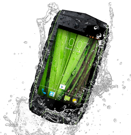 odyssey crosscall water proof tough phone