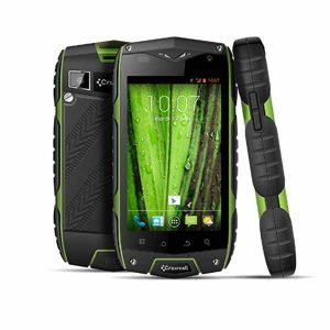 odyssey crosscall image showing front, back and side of shock proof tough phone