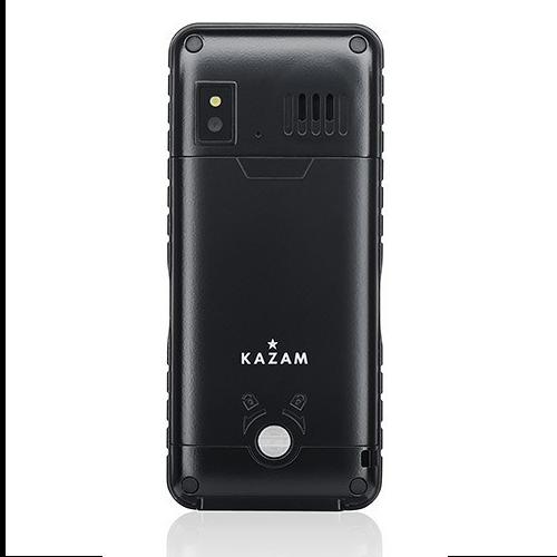 kazam life r2 image showing back of handset showing that handset is water proof