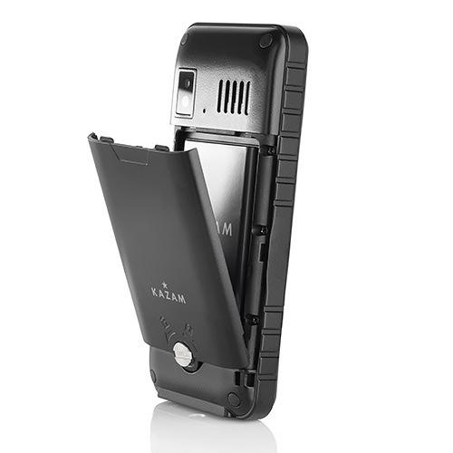 kazam life r2 image showing tough phone design and battery cover