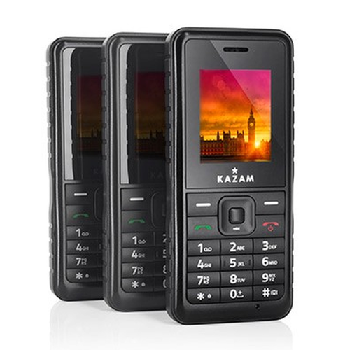 kazam life r2 image showing clean neat front of handset