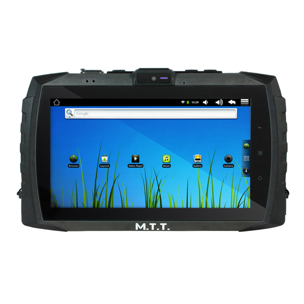 MTT Multimedia tablet image showing clear screen