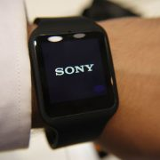 Sony Smartwatch 3 Black - Waterproof Smartwatch IP68