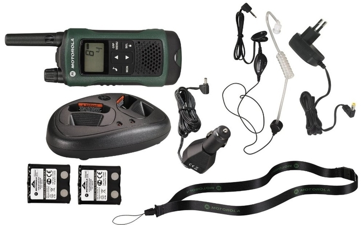 motorola t81 toughphones handset, stand and accessories
