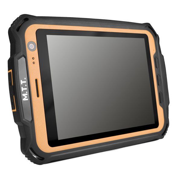MTT tablet image showing large screen and front facing camer