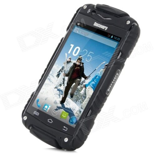 Discovery ToughPhone showing sturdy casing for hardwaring