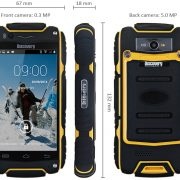 ToughPhone Discovery Version 8 - Black