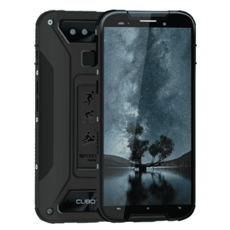 Tough phones Cubot Quest Lite Black 5_
